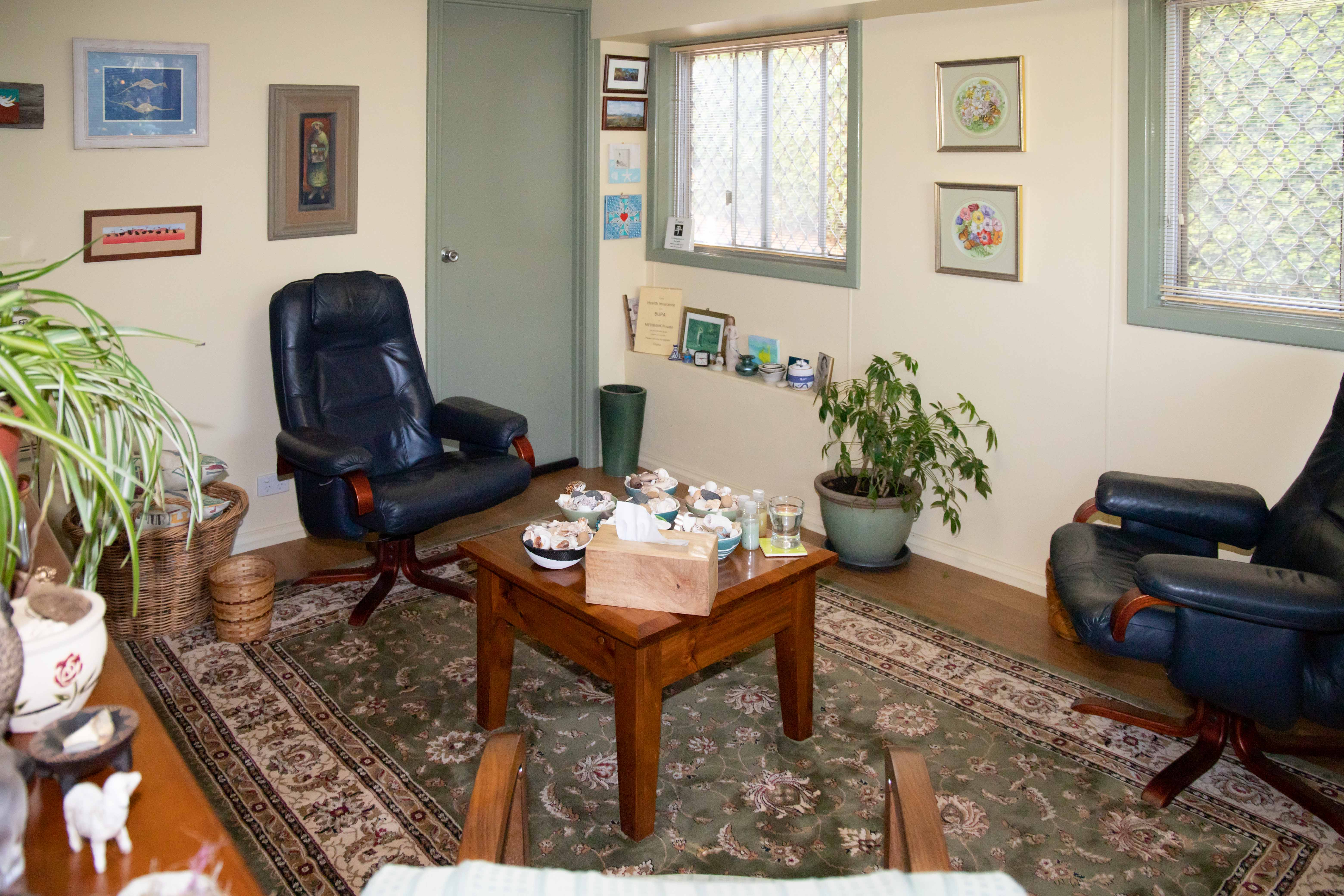 Photo of the treatment room